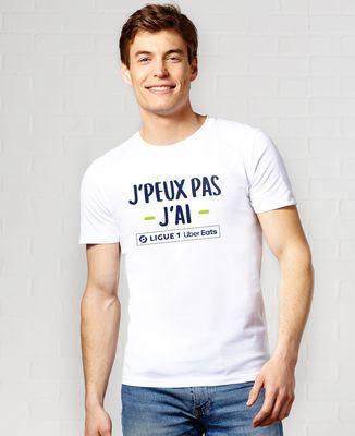 T-Shirt homme J'peux pas j'ai Ligue 1 Uber Eats