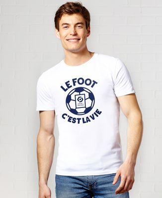 T-Shirt homme Le foot c'est la vie Ligue 1 Uber Eats