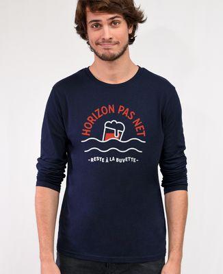 T-Shirt homme manches longues Horizon pas net