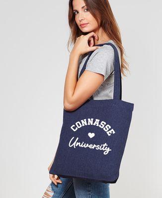 Tote bag Connasse University