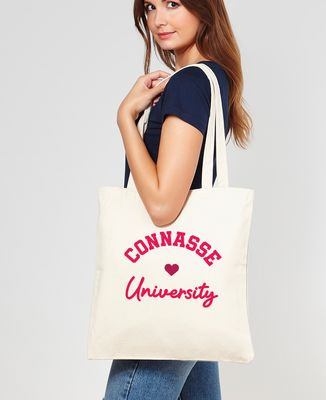 Tote bag Connasse University