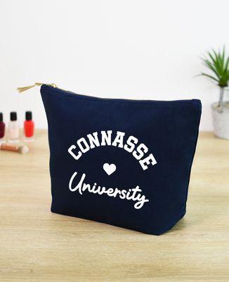 Trousse Connasse University (effet velours)