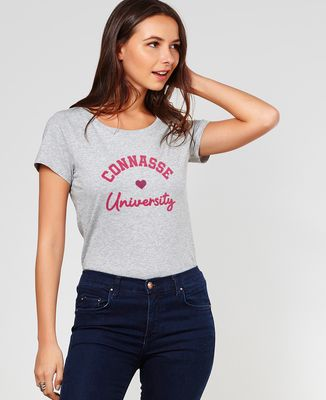 T-Shirt femme Connasse University