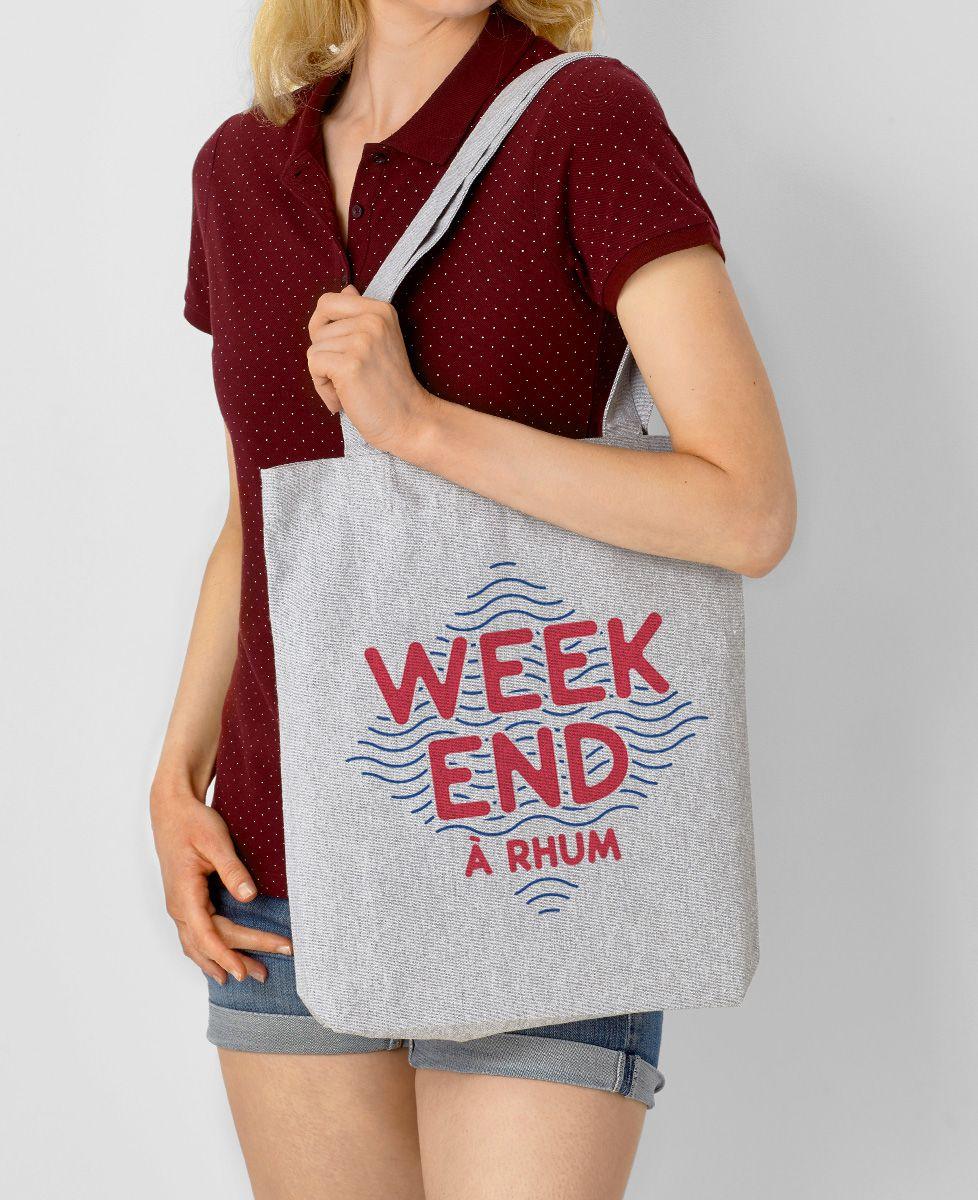 Tote bag Weekend à rhum