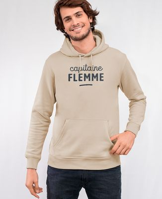 Hoodie homme Capitaine flemme