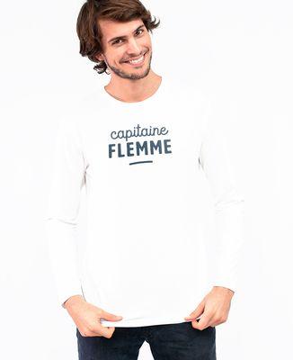 T-Shirt homme manches longues Capitaine flemme