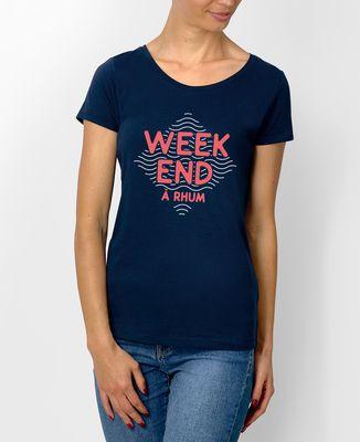 T-Shirt femme Weekend à rhum