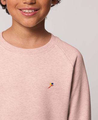 Sweatshirt enfant Perroquet (brodé)