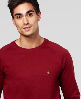 Sweatshirt homme Perroquet (brodé)
