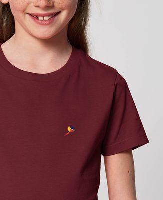 T-Shirt enfant Perroquet (brodé)