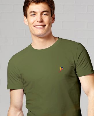 T-Shirt homme Perroquet (brodé)