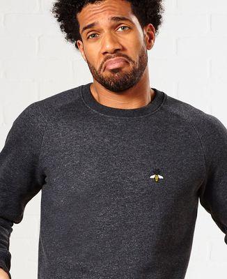 Sweatshirt homme Abeille (brodé)