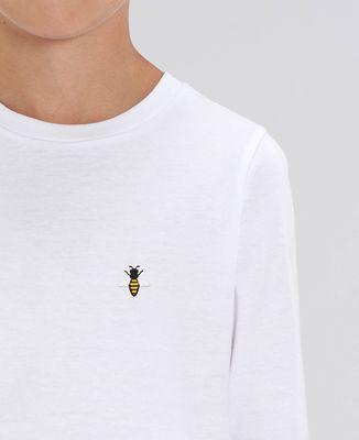 T-Shirt enfant manches longues Abeille (brodé)