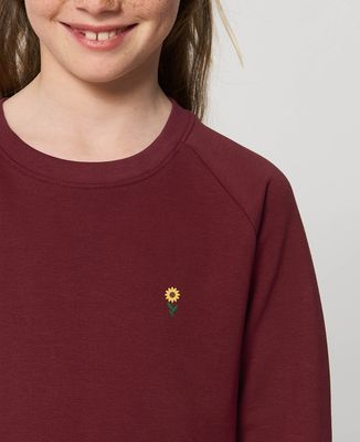 Sweatshirt enfant Tournesol (brodé)