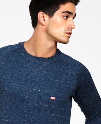 Sweatshirt homme Cochon (brodé)