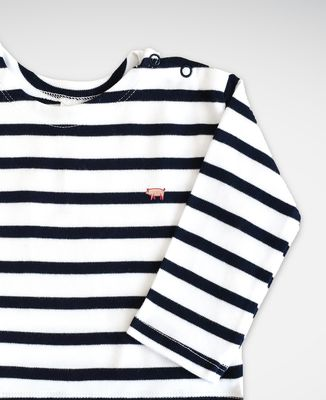 T-Shirt bébé Cochon (brodé)