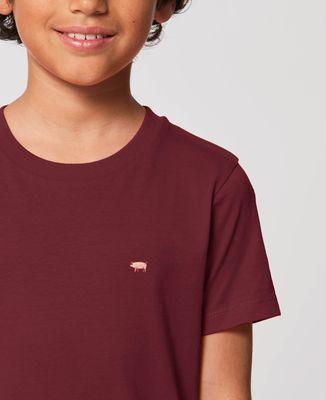 T-Shirt enfant Cochon (brodé)