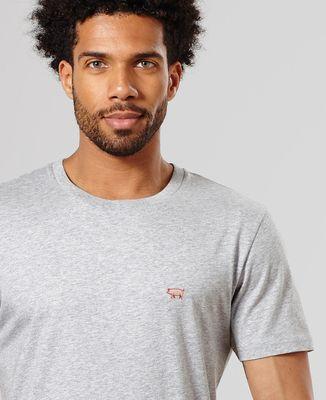 T-Shirt homme Cochon (brodé)