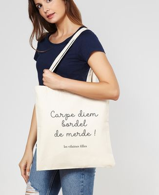 Tote bag Carpe Diem bordel