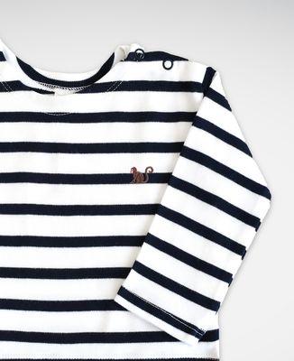 T-Shirt bébé Singe (brodé)