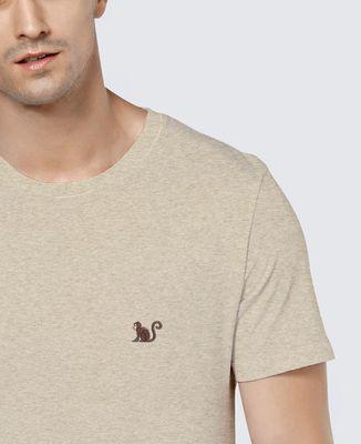 T-Shirt homme Singe (brodé)