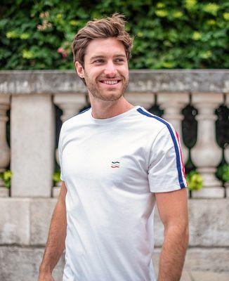T-Shirt homme Filgood 3 vagues (brodé)