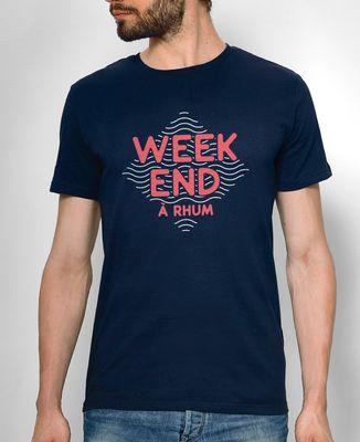 T-Shirt homme Weekend à rhum