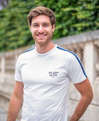 T-shirt homme recyclé Filgood Filgood Tel père tel fils (brodé)