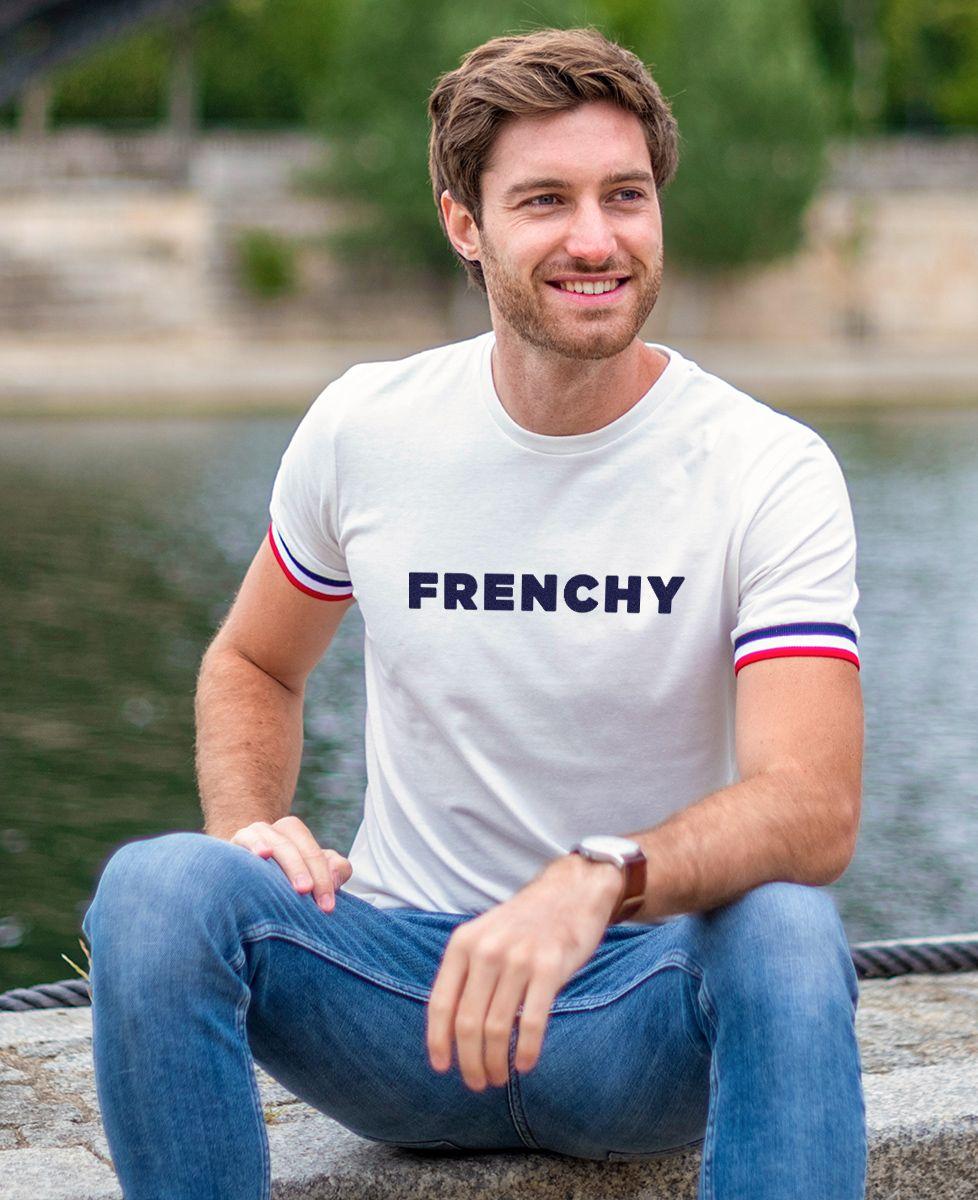 T-Shirt homme Filgood Frenchy (effet velours)