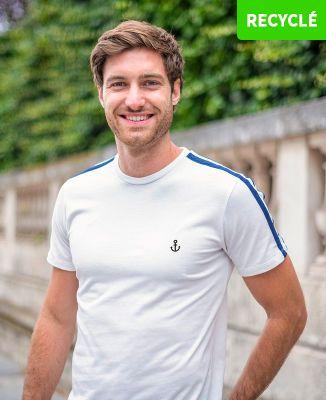 T-Shirt homme Filgood Petite ancre (brodé)