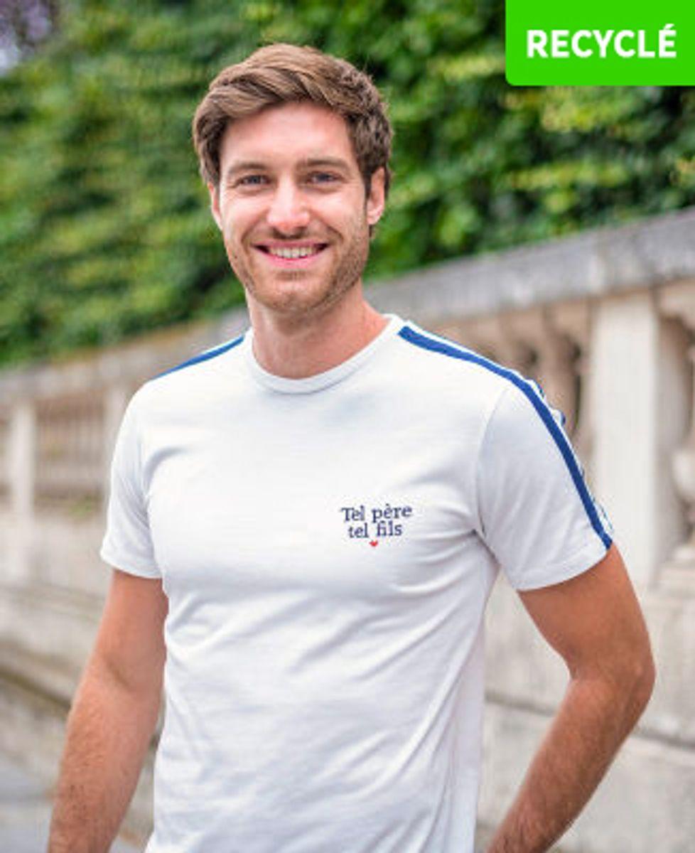 T-Shirt homme Filgood Tel père tel fils (brodé)