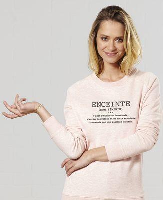 Sweatshirt femme Enceinte définition