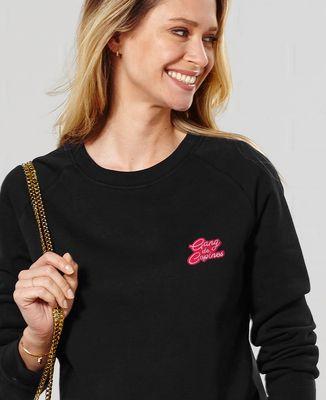 Sweatshirt femme Gang de copines (brodé)