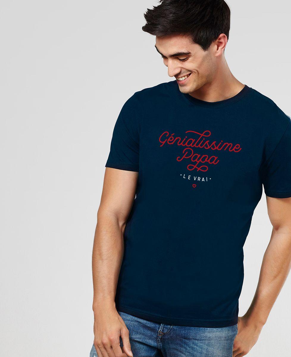 T-Shirt homme Génialissime papa