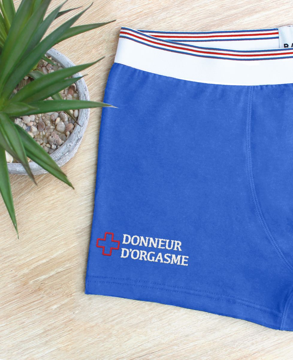 Boxer Donneur d'orgasme (brodé)