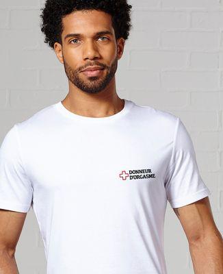 T-Shirt homme Donneur d'orgasme (brodé)