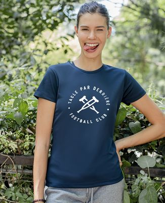 T-shirt sport femme Tacle par derrière