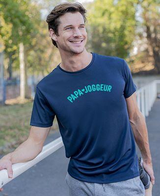 T-shirt sport homme Papa joggeur