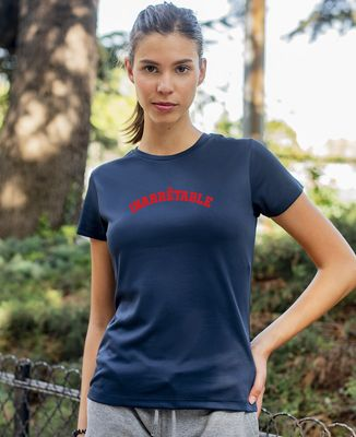 T-shirt sport femme Inarrêtable