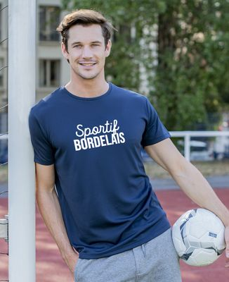 T-shirt sport homme Sportif personnalisé
