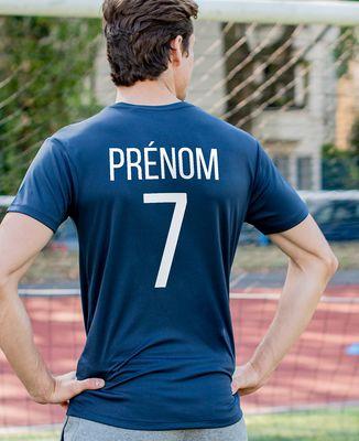 T-shirt sport homme Backnumber sport personnalisé