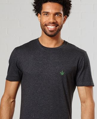 T-Shirt homme CannaWeed (brodé)