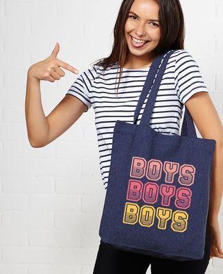 Tote bag Boys boys boys