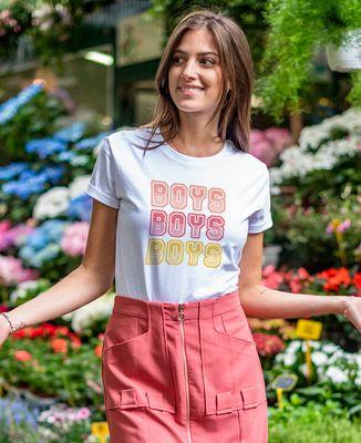 T-Shirt femme Boys boys boys