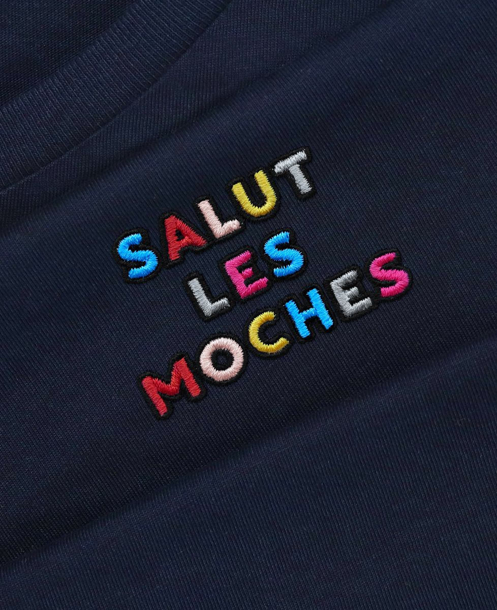T-Shirt homme Salut les moches (brodé)