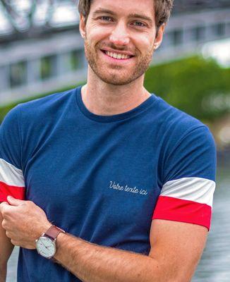 T-Shirt homme Filgood message brodé personnalisé