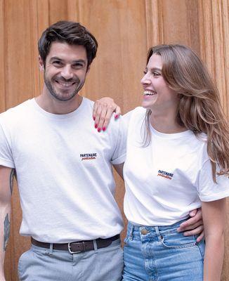 T-Shirt femme Partenaire particulier (brodé)