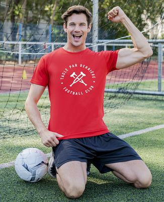 T-shirt sport homme Tacle par derrière