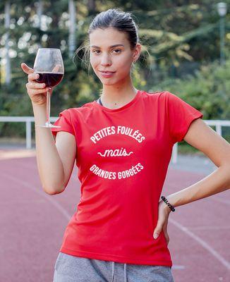 T-shirt sport femme Petites foulées
