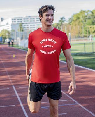 T-shirt sport homme Petites foulées